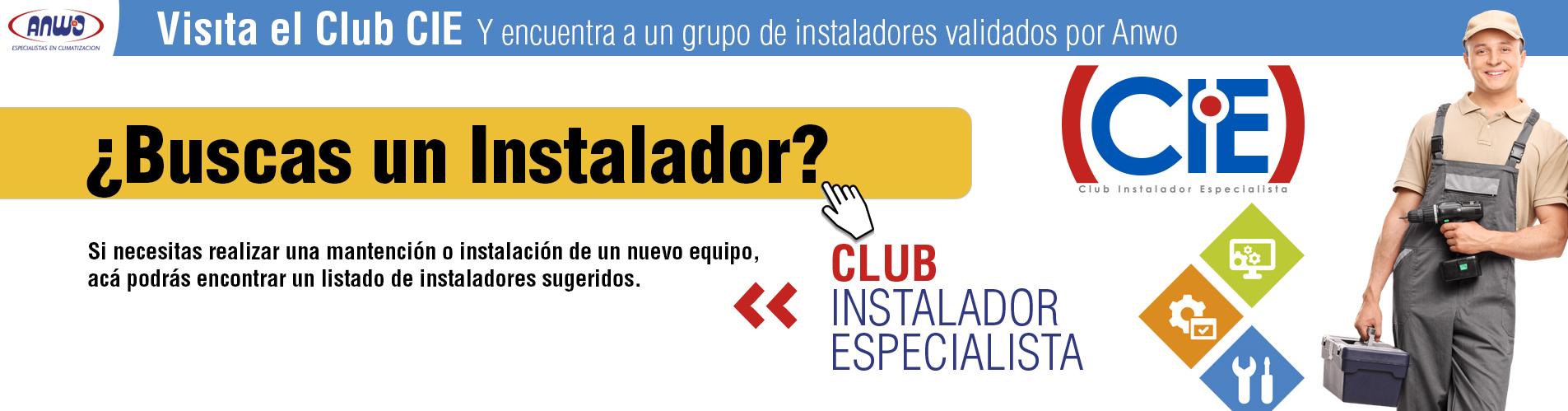 Club CIE ¿Buscas un Instalador?
